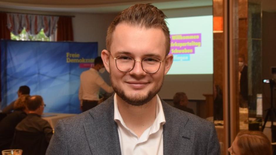 Maximilian Funke-Kaiser zieht in den Bundestag ein.