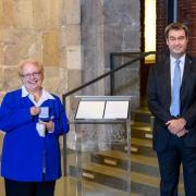 Sonja Storch erhielt von Markus Söder persönlich das Ehrenzeichen des Bayerischen Ministerpräsidenten für Verdienste im Ehrenamt.