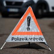 Bei einer Polizeikontrolle fasste die Burgauer Polizei einen Dieb.