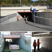 Nach langer Bauzeit wird die Bahnunterführung am Auweg in Günzburg Ende Oktober wieder für den Verkehr vollständig freigegeben.