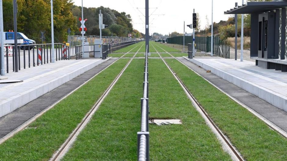 Werden die Mehrkosten für das Rollrasengleis der Tramlinie 3 von Augsburg nach Königsbrunn zum Fall für das Schwarzbuch des Steuerzahlerbundes?