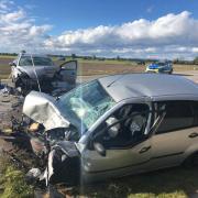 Ein tödlicher Verkehrsunfall mit zwei Pkw hat sich auf der Staatsstraße zwischen Höchstädt und Binswangen ereignet..