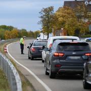 Polizeikontrolle bei Dornstadt: Bei 161 kontrollierten Personen wurde 16-mal eine Blutentnahme angeordnet, da jeweils ein Drogenschnelltest einen Verdacht lieferte.