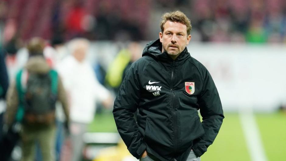 Markus Weinzierl konnte kaum glauben, was ihm seine Mannschaft am Freitagabend in Mainz bot.
