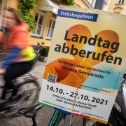 """Das Volksbegehren """"Landtag abberufen"""" zielt unter anderem darauf ab, dass ein neuer Landtag gewählt wird. Wie ist die Zustimmung im Landkreis Aichach-Friedberg?"""