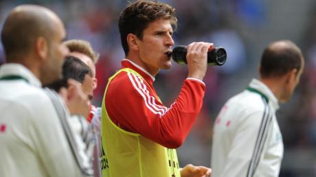 Mario Gomez würde gerne zum AC Florenz wechseln.