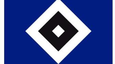 Das Logo des Fußball-Erstligisten Hamburger SV.