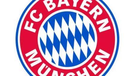 Das Logo des Fußball-Erstligisten FC Bayern München.
