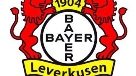 Das Logo des Fußball-Erstligisten Bayer 04 Leverkusen.