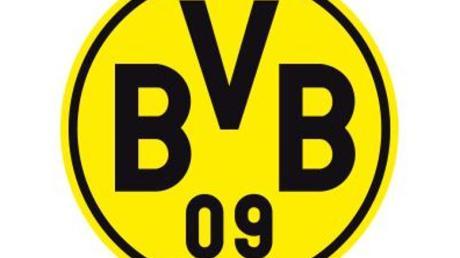 Das Logo des Fußball-Erstligisten Borussia Dortmund. Foto: