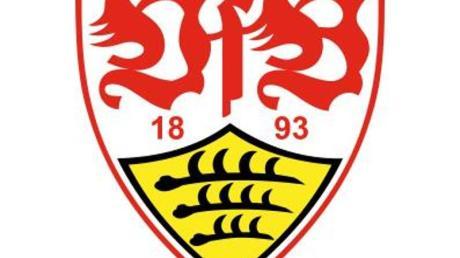 Das Logo des Fußball-Erstligisten VfB Stuttgart.