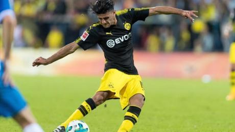 Beim Testspiel gegen Espanyol Barcelona überzeugte Dortmunds Neuzugang Mahmoud Dahoud am Ball. Foto: Guido Kirchner