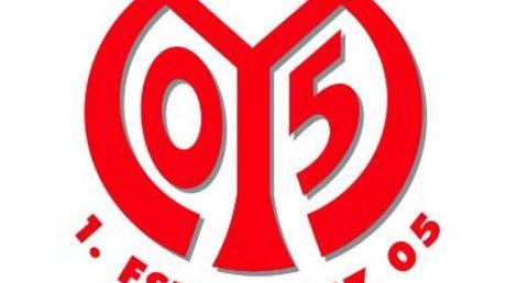 Das Logo des Fußball-Erstligisten FSV Mainz 05.