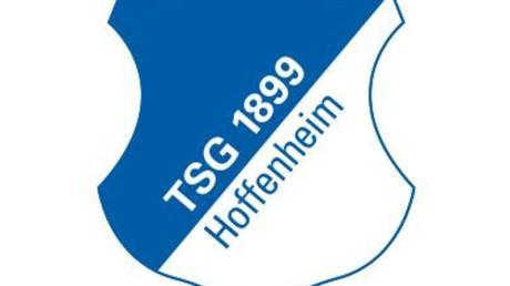 Das Logo des Fußball-Erstligisten TSG 1899 Hoffenheim.