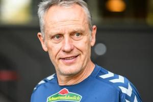 Beim FCA-Gegner Freiburg ist Trainer Christian Streich der Star