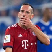 Franck Ribery arbeitet nach einer Wirbelblockade an seinem Comeback beim FC Bayern München. Foto: Guido Kirchner