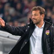 Markus Weinzierl ist der Trainer des VfB Stuttgart. Foto: Sebastian Gollnow
