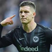 Trifft für Eintracht Frankfurt: Luka Jovic. Foto: Uwe Anspach