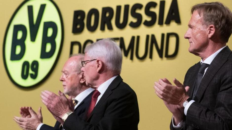 Borussia Dortmund Harmonische Mitgliederversammlung Beim Bvb