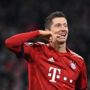 Fühlt sich in der Jägerrolle auch wohl: Bayern-Angreifer Robert Lewandowski. Foto: Sven Hoppe