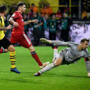 Das Rückspiel zwischen dem FC Bayern und Borussia Dortmund findet am 6. April statt. Foto: Ina Fassbender