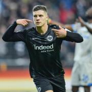 Hat das Interesse europäischer Topclubs geweckt: Eintracht-Torjäger Luka Jovic. Foto: Uwe Anspach