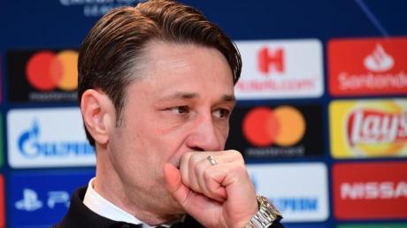 Bayern Münchens Trainer Niko Kovac konzentriert sich jetzt auf die Meisterschaft und den Pokal.