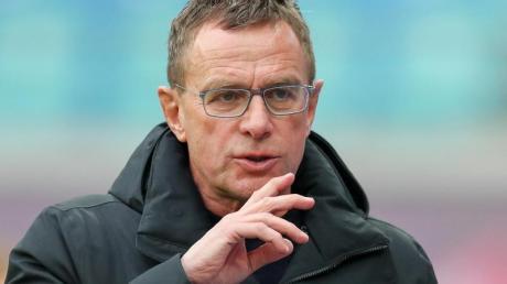 Ralf Rangnick ist der Trainer und Sportdirektor von RB Leipzg. Foto: Jan Woitas
