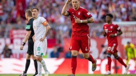 Sorgte mit seinem Tor für den Sieg gegen Bremen: Bayerns Niklas Süle.