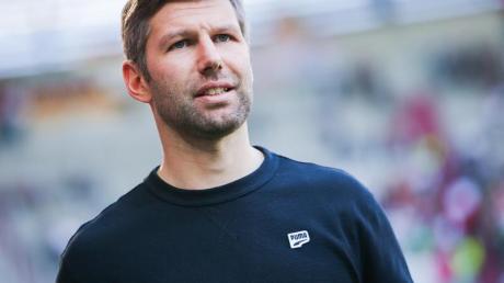 Am Tag des Relegations-Hinspiels gegen den 1. FC Union Berlin feiert Thomas Hitzlsperger ein Jubiläum als VfB-Sportvorstand.