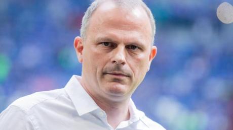 Schalke hatte im März Jochen Schneider als Sportvorstand installiert. Foto: Rolf Vennenbernd