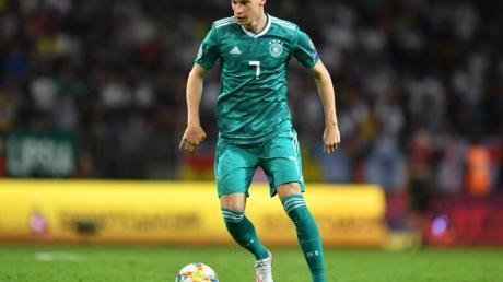 Julian Draxler hält den Dortmunder Kader für titelwürdig.