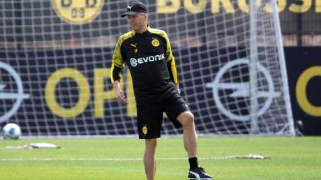 Gab seinen Spielern Hitzefrei: BVB-Coach Lucien Favre.