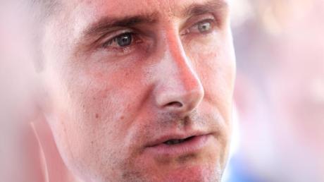 Vermisst bei den Jungfußballern Leidenschaft und Herz: Miroslav Klose.