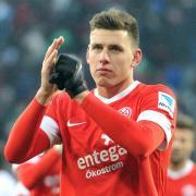 Adam Szalai spielt wieder für den FSV Mainz 05. Foto: Stefan Puchner