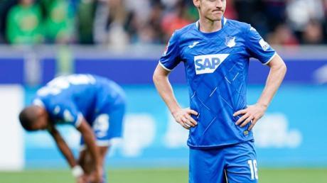 Hoffenheims Sebastian Rudy war nach der Niederlage gegen Borussia Mönchengladbach enttäuscht.