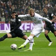 Zum Auftakt des achten Spieltages empfängt Eintracht Frankfurt Bayer Leverkusen. Foto: Hasan Bratic/dpa