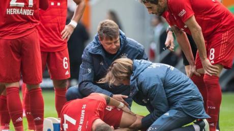 Bayern-Verteidiger Niklas Süle hat einen Kreuzbandriss erlitten. Foto: Matthias Balk/dpa