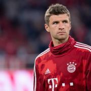 Thomas Müller ist mit seiner derzeitigen Rolle beim FC Bayern unzufrieden. Foto: Sven Hoppe/dpa
