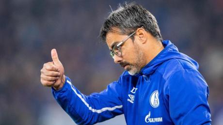 Muss im Derby auf Weston McKennie verzichten: Schalke-Trainer David Wagner.