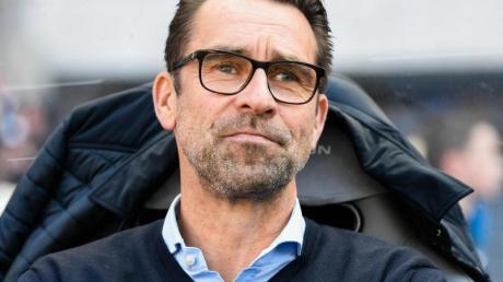 Herthas Geschäftsführer Sport, Michael Preetz. Foto: Tom Weller/dpa