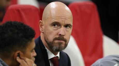 Trainer Erik ten Hag ist vertraglich bis 2022 an Ajax Amsterdam gebunden. Foto: James Wilson/CSM via ZUMA Wire/dpa