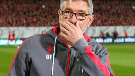 Union-Trainer Urs Fischer. Foto: Andreas Gora/dpa