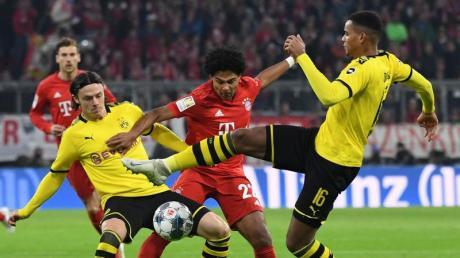 Beim Liga-Knaller Bayern gegen Dortmund kam es beim Sky zu Sendeproblemen. Foto: Sven Hoppe/dpa