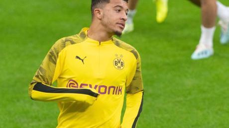 Absteigende Formkurve: BVB-Spieler Jadon Sancho wird Lustlosigkeit vorgeworfen. Foto: Bernd Thissen/dpa