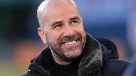 Hat großen Respekt vor dem nächsten Gegner Freiburg: Leverkusen-Coach Peter Bosz.