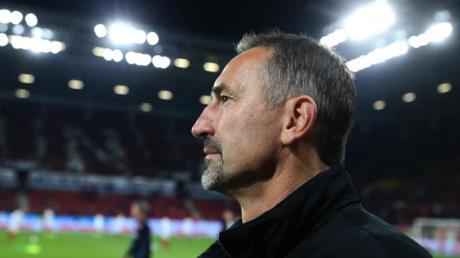 Hatte nur kurze Zeit zum Verschnaufen: Mainz-Coach Achim Beierlorzer.
