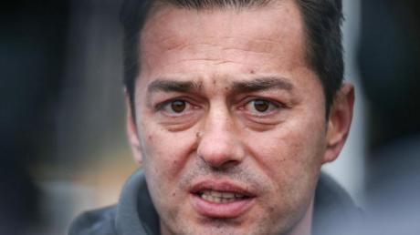 Dürfte kaum noch eine Chance auf einen Verbleib als Hertha-Trainer haben: Ante Covic zeigte sich illusionslos.