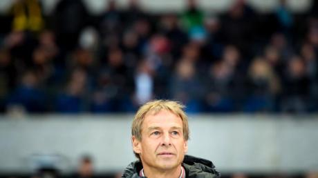 «Will die Intensität nach oben schrauben»: Hertha-Trainer Jürgen Klinsmann.