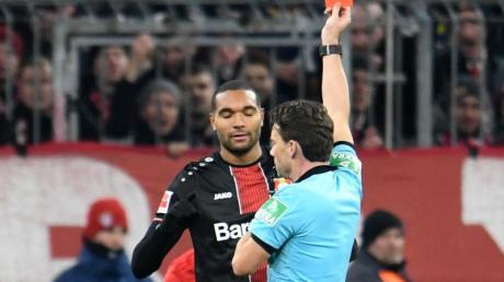 Jonathan Tah hatte in München die Rote Karte gesehen.